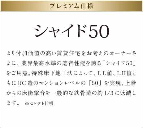 シャイド50